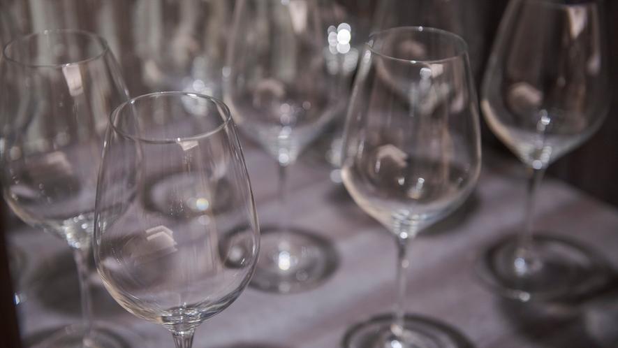 【プレミアムコテージJINWA】数種類のカップとグラスをご用意