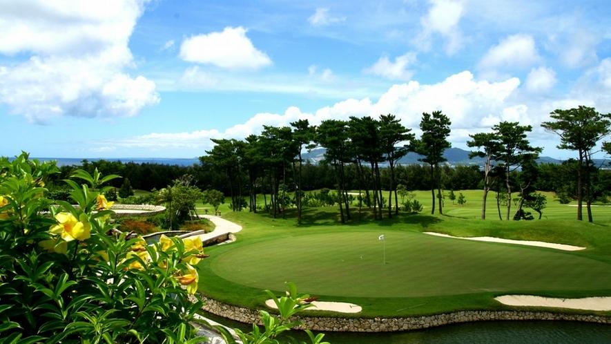 優雅な気分でゴルフリゾートを満喫