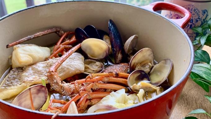 【伊勢海老と真鯛 の「塩」ブイヤベース】ワインと合うアミューズとオードブル♪<アッパレしず旅>