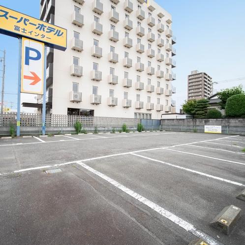 平面無料駐車場65台完備