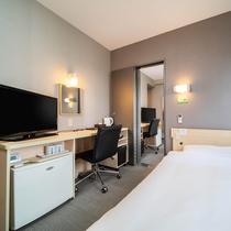 【コネクティングルーム】つながるお部屋♪140cmワイドベット×2室・最大4名様まで宿泊可能