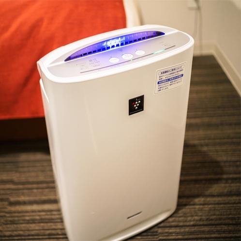 加湿付空気清浄器
