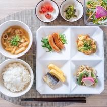 健康無料朝食