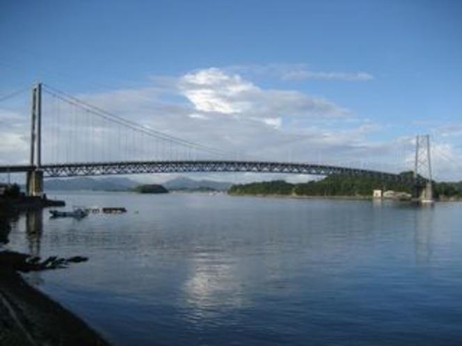 大矢野と維和島を結ぶ東大維橋