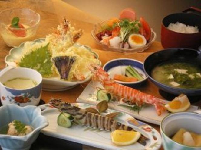 【レストラン】海老づくし定食