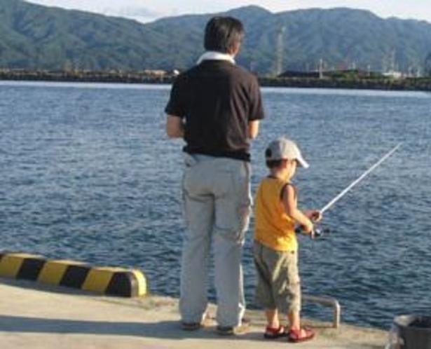 親子で釣りはいかが?