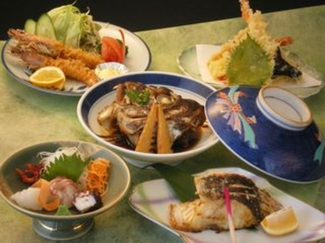 【レストラン】人気の渚定食01