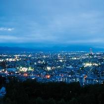 山形市街の夜景