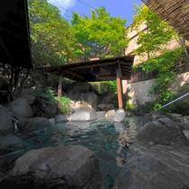 大庭園露天風呂星月の湯