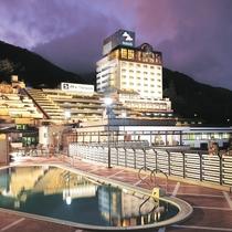 【☆施設☆】グループ旅館「ホテルくさかべアルメリア」♪