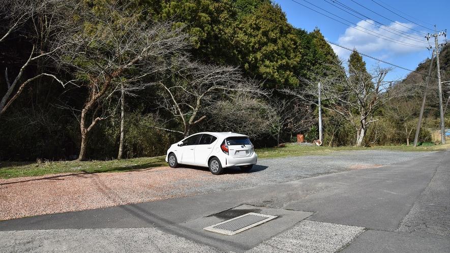 *【駐車場】ご自由にご利用ください。