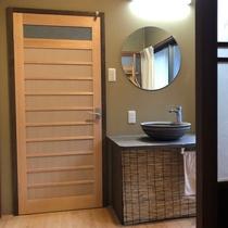 【和室8畳】モダンで洗練されたトイレ洗面所付き