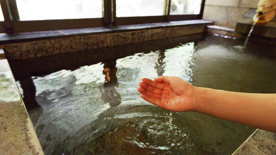 *【温泉】さらさらした肌触りでお肌もスベスベに♪