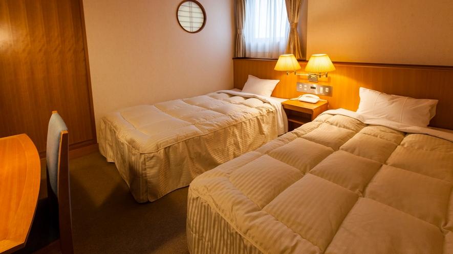 710号室 ベッドルーム