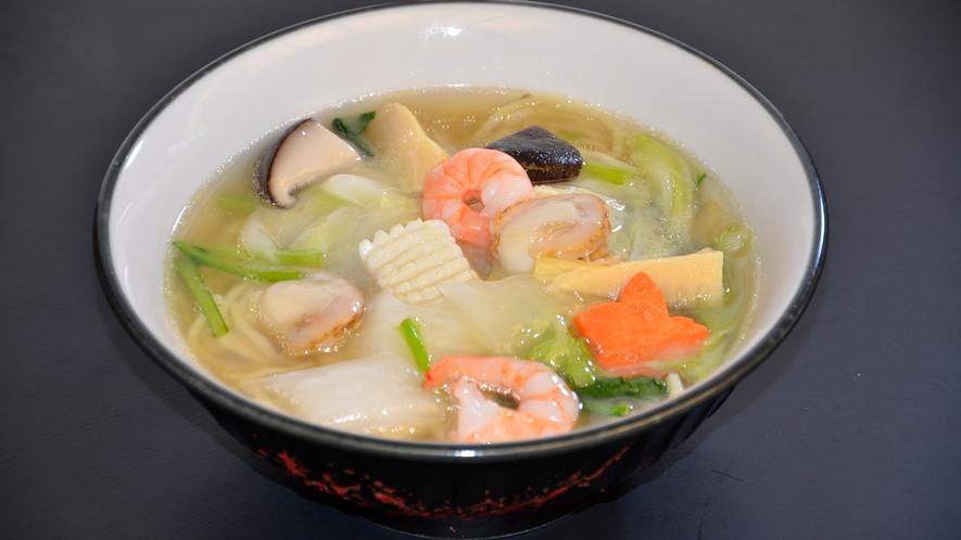 レストラン波止場メニュー「海鮮麺」
