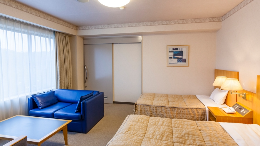 洋室ツイン 山側バリアフリールーム(508号室)