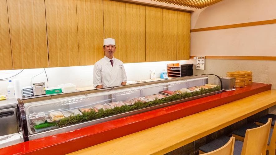 レストラン波止場 寿司カウンター
