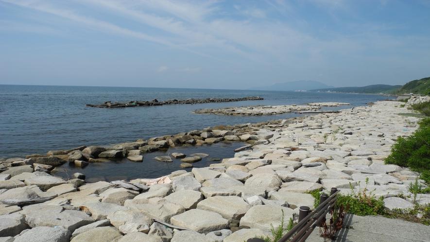 山田海岸磯浜広場