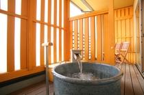 2階客室露天風呂