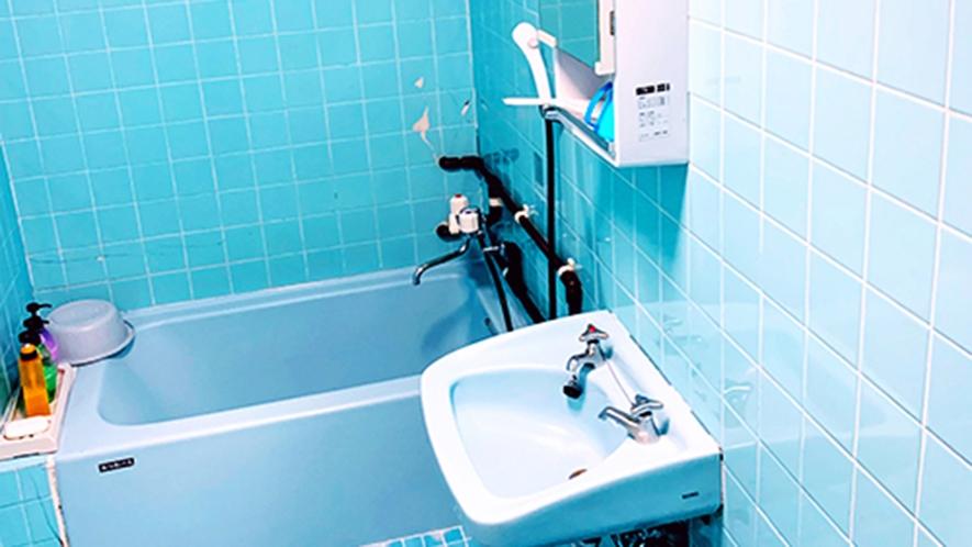 ・客室/シングルルーム:ホッと寛げるバスタブ付バスルーム