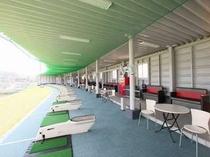 ゴルフ練習場♪