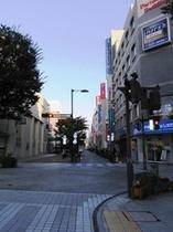 レンガ通り入口