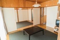 6畳2間タイプの部屋