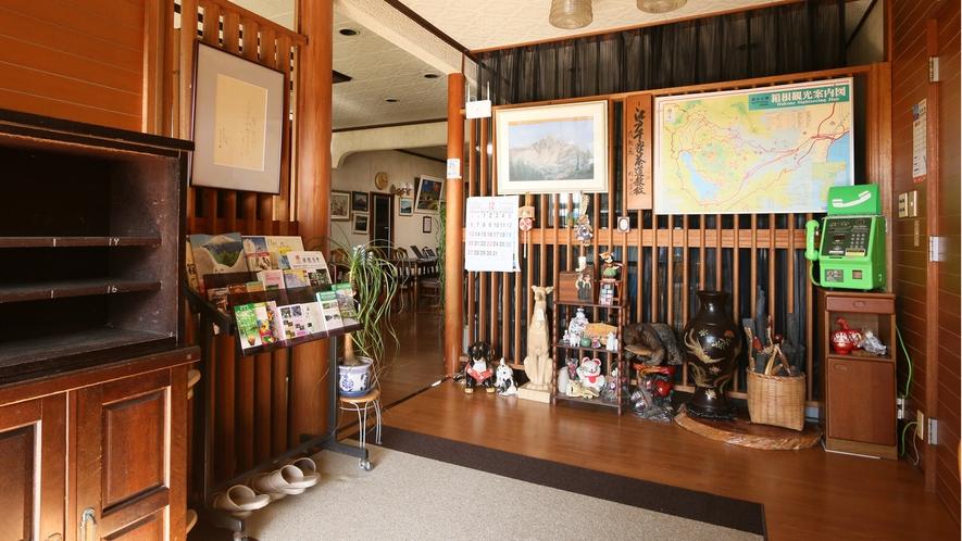 玄関◆ようこそ箱根~金時山荘へ~