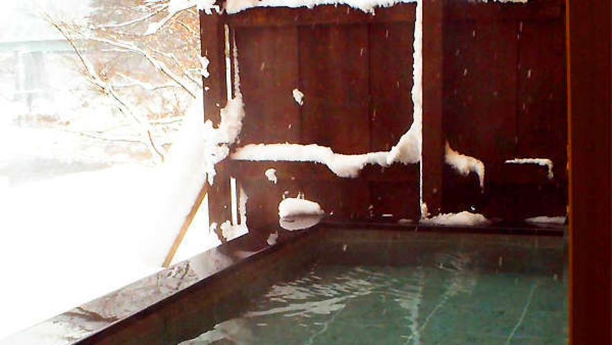 【露天風呂(冬)】