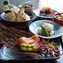 秋の献立【秋鮭味噌バター正油焼】
