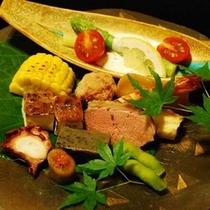 夕食例・前菜