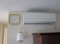 エアコン・時計