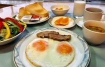 【朝食】洋食セットメニュー2