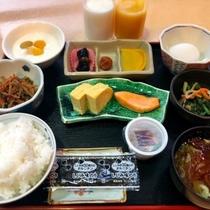 【朝食】和食セットメニュー1