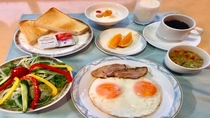 【朝食】洋食セットメニュー