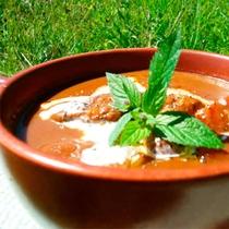 *【夕食一例】ぐつぐつと丁寧に煮込んだ「高原のビーフシチュー」メイン料理を4種類から選べます。