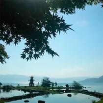 *【洞爺湖】洞爺湖の景観スポットの中でも人気の「浮見堂」。是非訪れたい撮影スポット。
