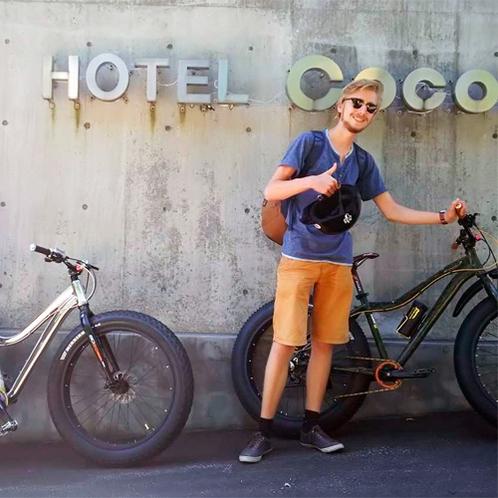 *【レンタルファットバイク】洞爺湖散策に絶対おススメの貸自転車!(有料)