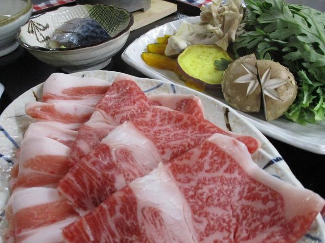 県産肉すきしゃぶ