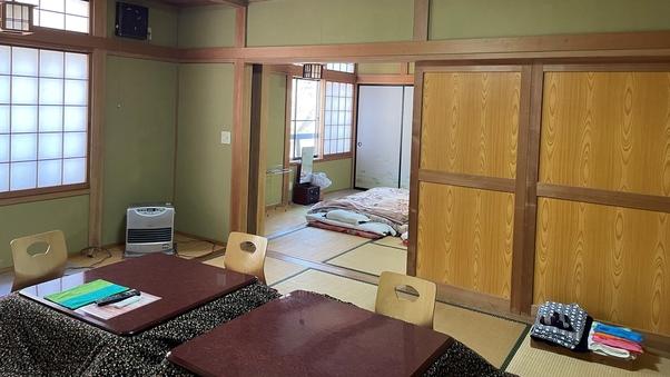 2間続き部屋(8畳+8畳)