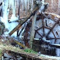 *冬場はつららができ、都心ではあまり見られない幻想的な光景が見れるかもしれません。