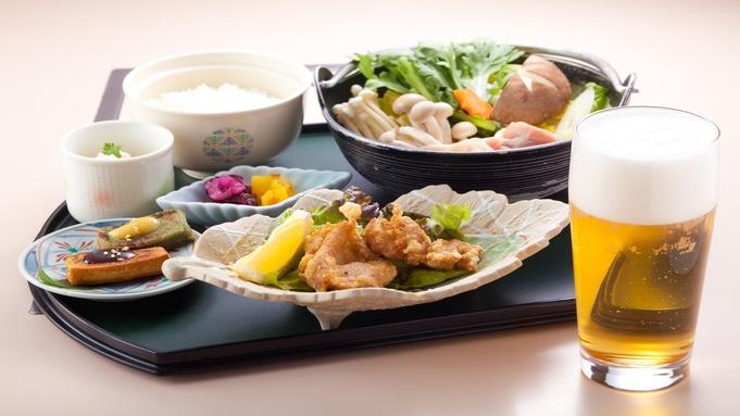 【2食付】夕食:鳥の豆乳鍋御膳+ワンドリンク 朝食:30種類以上の和洋バイキング