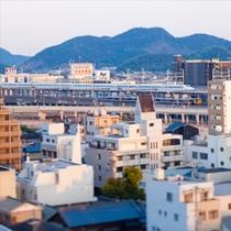 【眺望】11Fレストラン「京都 銀ゆば」からの眺望