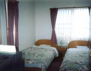 客室例:洋室(ツインルーム)