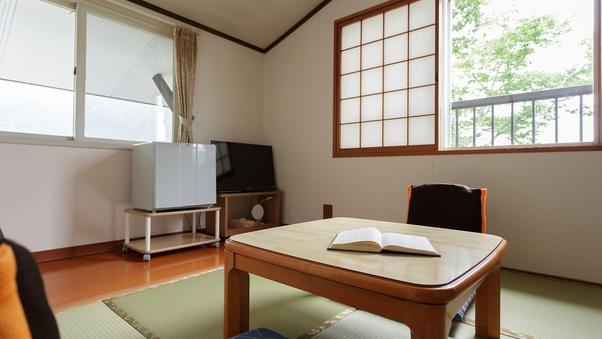 和室6畳+1.5畳板の間:トイレ付き//禁煙