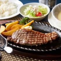レストラン「シーハーモニー」ステーキ