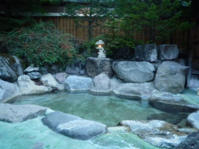 女性用露天風呂『湯の光』