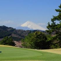 *【富士山】天気がよければ、富士山を望むことも…