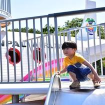 【ぐらんぱる公園】ぐらんぱるエアライン:パイロットの衣装を着て記念写真★