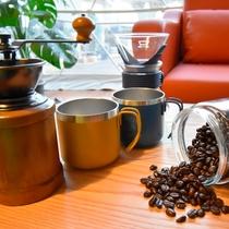 《グランピング》モーニングコーヒー